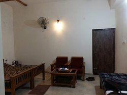 Room in main building near entrance gate