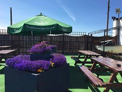 Beer Garden to relax and enjoy the sun!