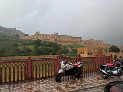 Monsoon View of the beautiful fort