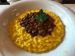 Risotto with wild boar