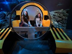 This replica of a 'bottom of the ocean' explorer comes with an interactive video game.