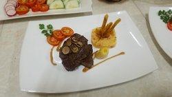Filete Miñon , cocinado Por  el Chef Juan Carlos