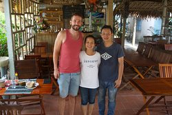 Me, Hải and his brother