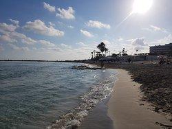 Stunning beach, crystal clear water