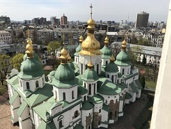 Cerkiew z góry