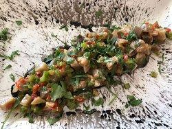 Thunfisch mit Gemüsen