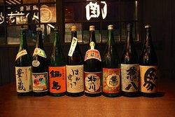 九州の地酒、限定酒、取り揃えております