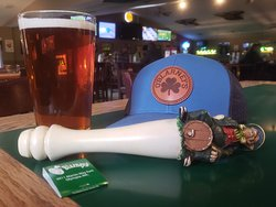 O'Blarney's Celtic Ale is made by Dick's Brewing in Centralia and is available year round.