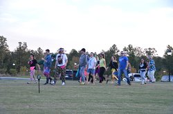 Our Groovin' on the Green event, a 21 and over dance party on the green that we hold twice a year!