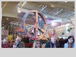 Flower Power exhibit