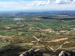 Vistas desde el Castillo de Loarre