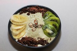 Smoothie Bowl Banana & Kiwi