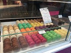 Yum....Macarons are great at Paris in a Cup.