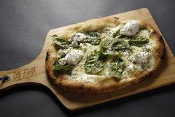 Nossa Pizza Figata Espinafre com Ricota,uma preciosidade que surpreende os mais rigorosos palada