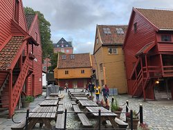 Views from the back of Bryggen