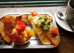 Very nice veggie breakfast