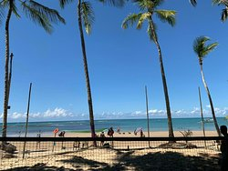 Beach tennis trancoso ...praia dos Coqueiros