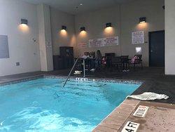 Small half outdoor pool