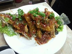 Seafood dishes (availability depends on season)