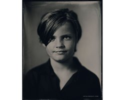 Are - Scan of Silver Portrait Tintype 20 x 25cm. www.silverportraitstore.nl