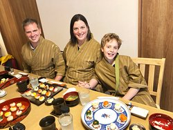 Temari sushi with guests!