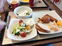 Excellent petit déjeuner