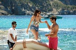 Boat service Beach Club Gran Folies