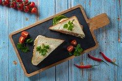 Сэндвич по-домашнему