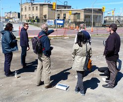 A small group on the Chaudiere tour.