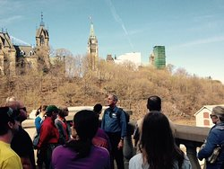 Part of a tour about Parliament Hill.