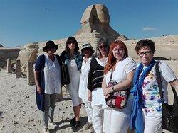 la sfinge al Giza