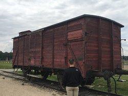 ユダヤの人々を運んだ貨車