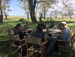Out of Tanzania - Experience the hot lunch at the bush while surrounded by the wild of Africa