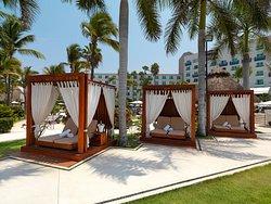 Balinese Beds - Hard Rock Hotel Vallarta