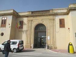 Ingresso del Museo Archeologico Regionale Lilibeo Marsala