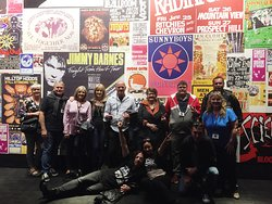 Here we at the Australian Music Vault.  These music lovers can't get enough!