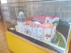 """The display of the """"miniature model"""" (at the area just inside the entrance)"""