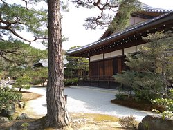 Another traditional house in the Kinkakuji gardens.