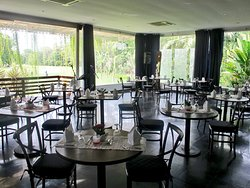 Our Lounge at sector restaurant is best choice for enjoy your food with best golf view
