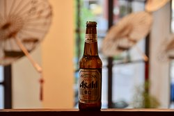 Asahi Super Dry is a Japanese Rice Lager style beer.  Taste it now at JIANG NAN Chinese Restaurant!
