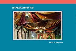 The Arabian Souk Tent