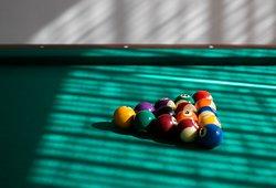 Pool Table at Karanda Bar