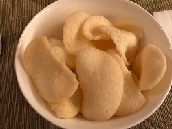 Complimentary Prawn Crackers