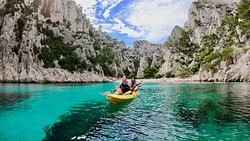 Calanques Immersion Kayak Cassis