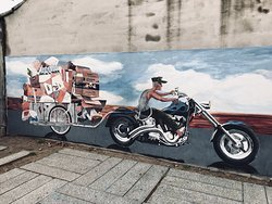 Action mural