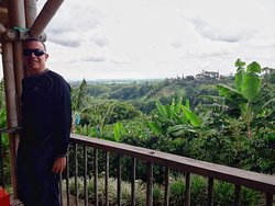 Yes, Coffee and plantain plantations, You may enjoy this scenery too