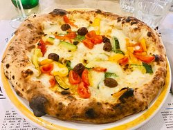 Pizza alle verdure € 8,00