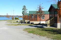 Lake Guntersville State Park Cabins by RRM