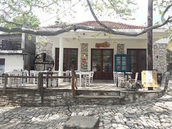 Coffee bar, local handmade products, pyrography art & gift shop