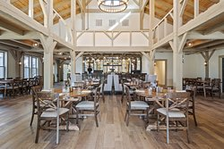 The main dining area at Grove.